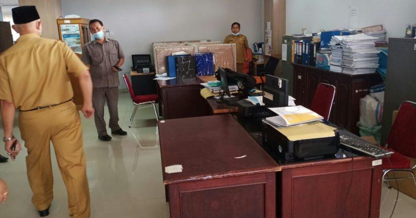 Sidak ke Dinas ESDM Sumbar, Gubernur Temukan Kursi Kosong