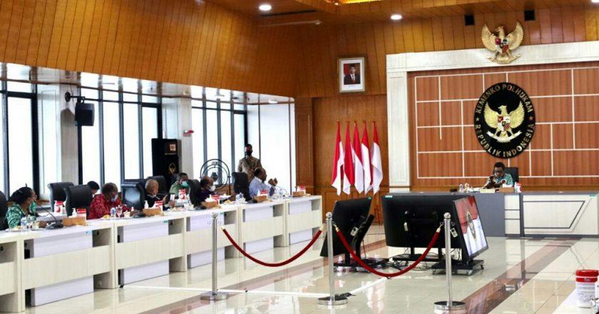 Majelis Rakyat Papua Dialog Bersama Menko Polhukam