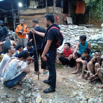 Diduga Ilegal Mining, 21 Orang Diamankan Polres Solsel
