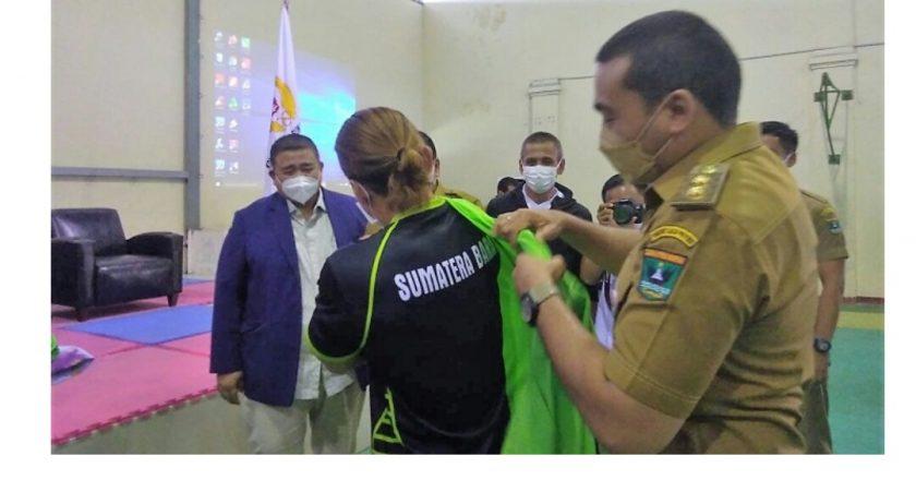 Wagub Audy Suport Habis Atlet Sumbar Berlaga di PON Papua