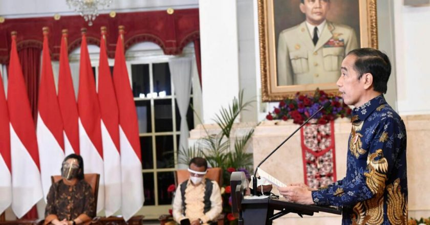 Didepan Ekonom Presiden Beberkan Tiga Strategi Ekonomi