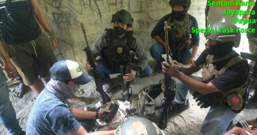 Tangkap Gigen Telenggeng, Polisi Nemangkawi Sita 3 Senpi