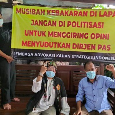 Kebakaran di Lapas Tangerang, Laksi: Stop Cari Kambing Hitam