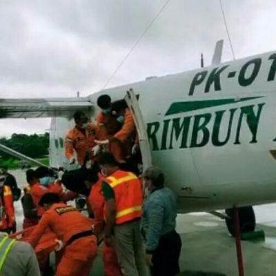 3 Korban dan Black Box PK OTW Rimbun Air Dibawa ke Timika
