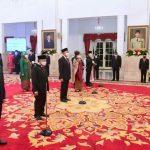 Berikut 17 Duta Besar Yang Dilantik Presiden